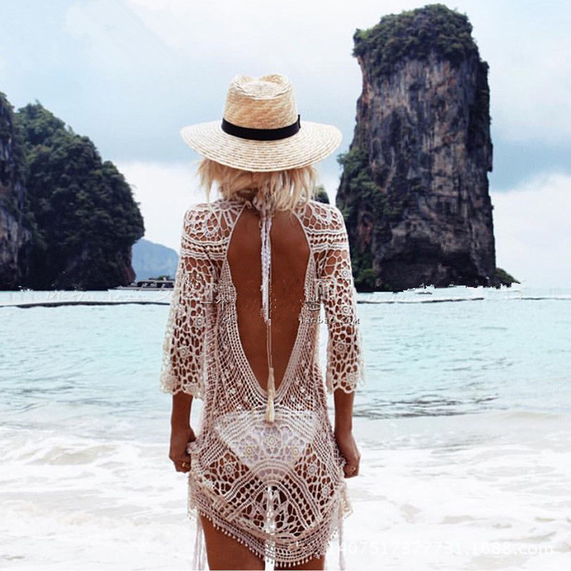 Sexy Crochet Beach Dress