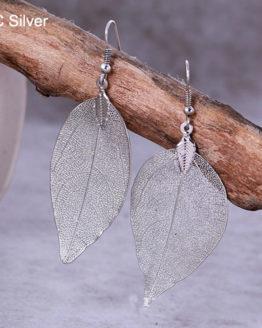 Bohemian Long Earrings KC Silver