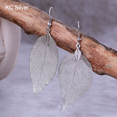 Bohemian Long Earrings KC Silver