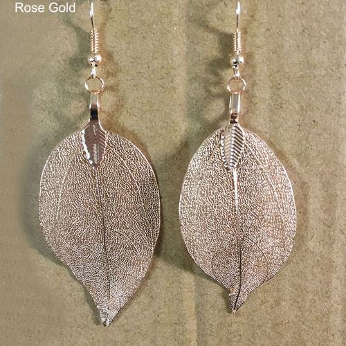 Bohemian Long Earrings Rose Gold