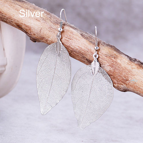 Bohemian Long Earrings Silver