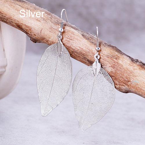 Bohemian Long Earrings Silver