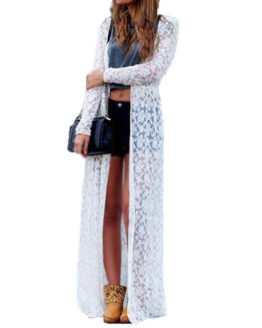 Bohemian Lace Crochet Long Sleeve