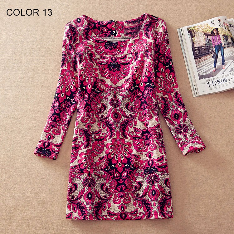 Ladies Long Sleeve Casual Autumn Color 13