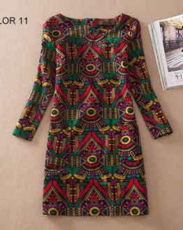 Ladies Long Sleeve Casual Autumn Color 11