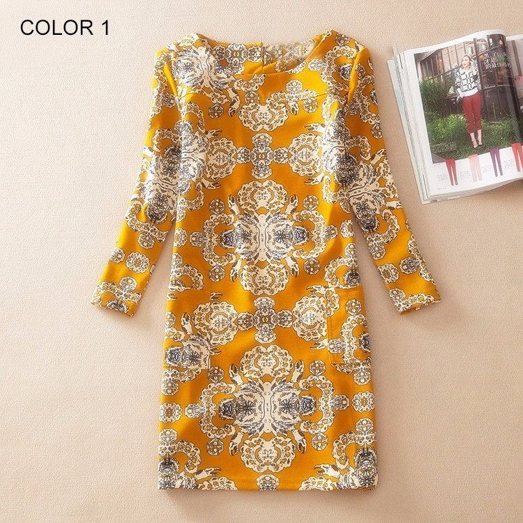 Ladies Long Sleeve Casual Autumn Color 1