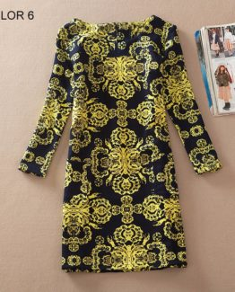 Ladies Long Sleeve Casual Autumn Color 6