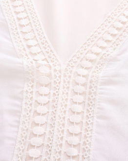 Boho Deep V-neck Lace Crochet