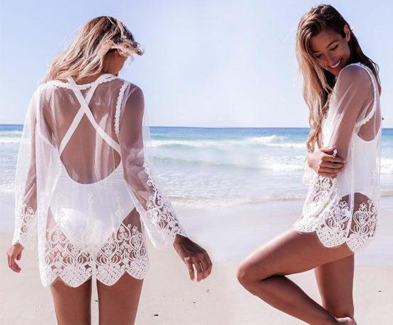 Crochet Tunica Beachwear