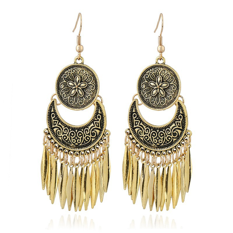 Drop Long Tassel Earrings