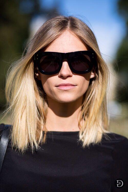 Gradient Lens Sun Glasses
