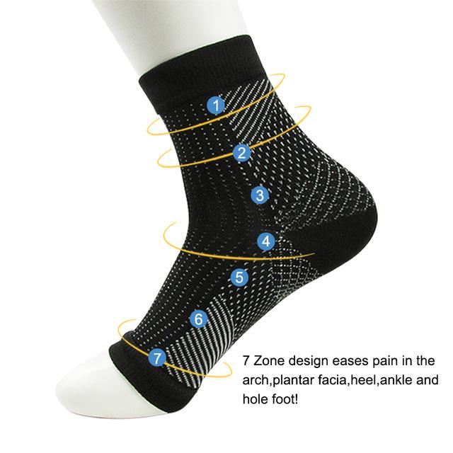 Socks Sleeve Elastic Relieve Swell Ankle Sokken