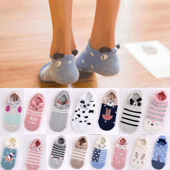 Socks 3D Ear Cartoon