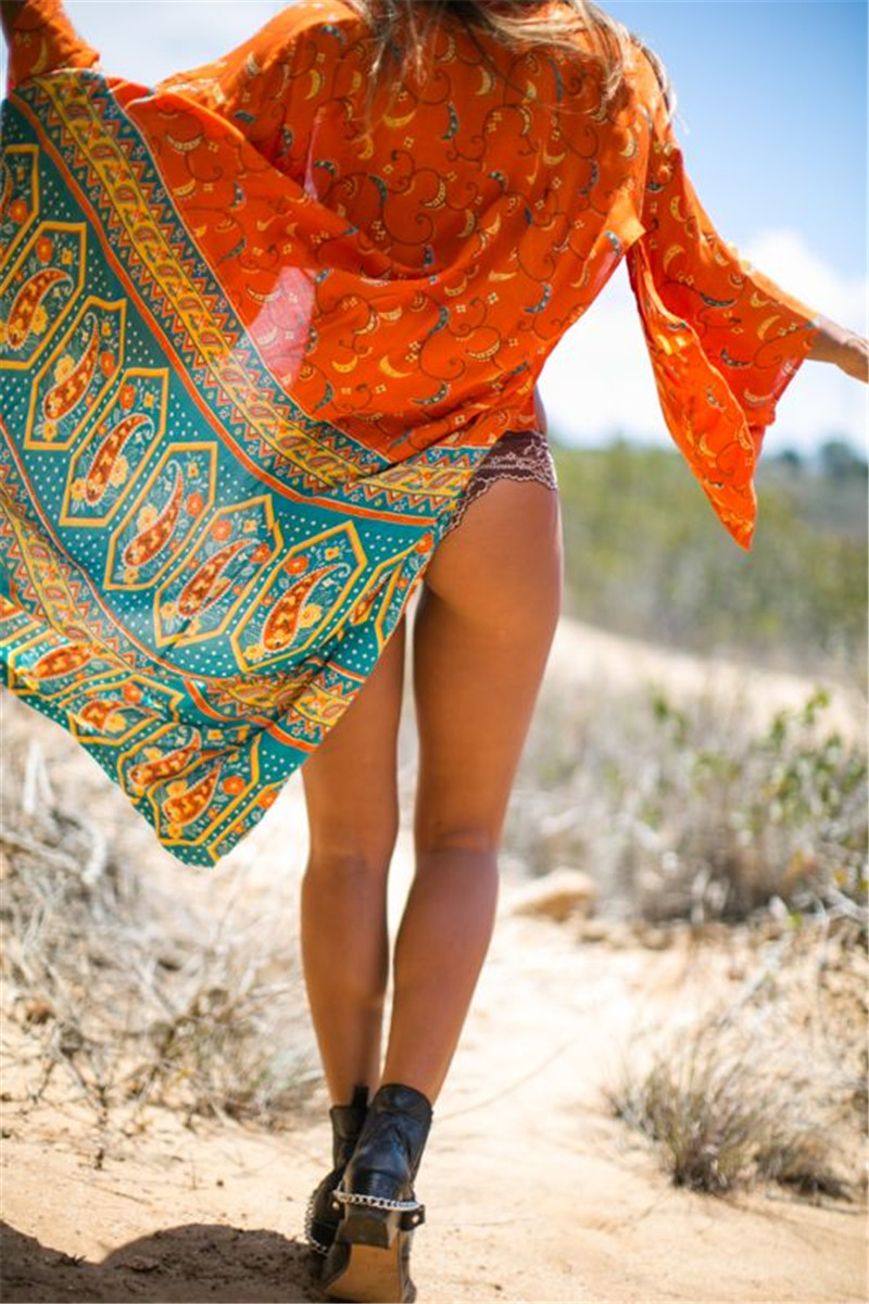 Beach Dress Kimono