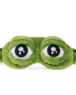 Sleep Mask 3D Sad Frog