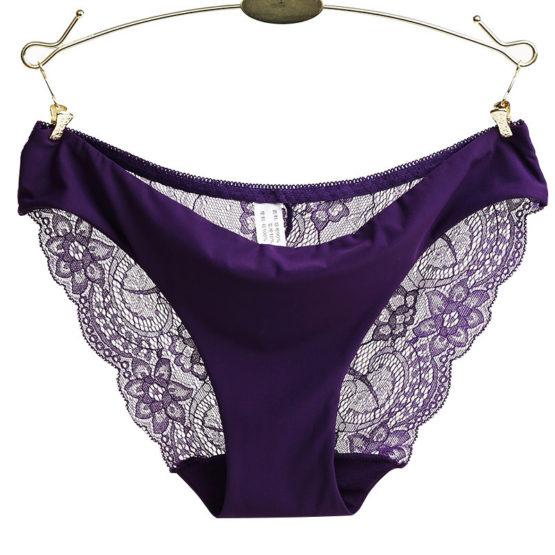 Traceless Crotch of Cotton Underwear Woman Panties