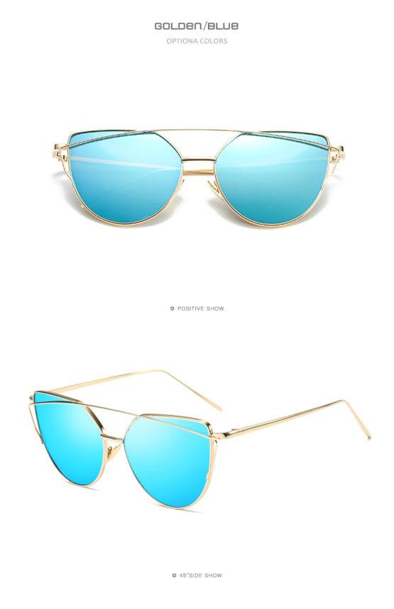 Golden/Blue