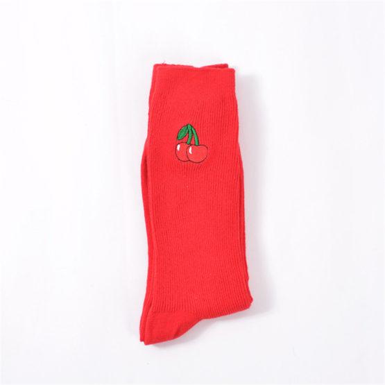 Fruit Funny Socks Cute Cartoon