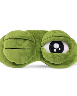 3D Sad Frog Sleep Mask