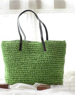 Weave Straw Beach Bag