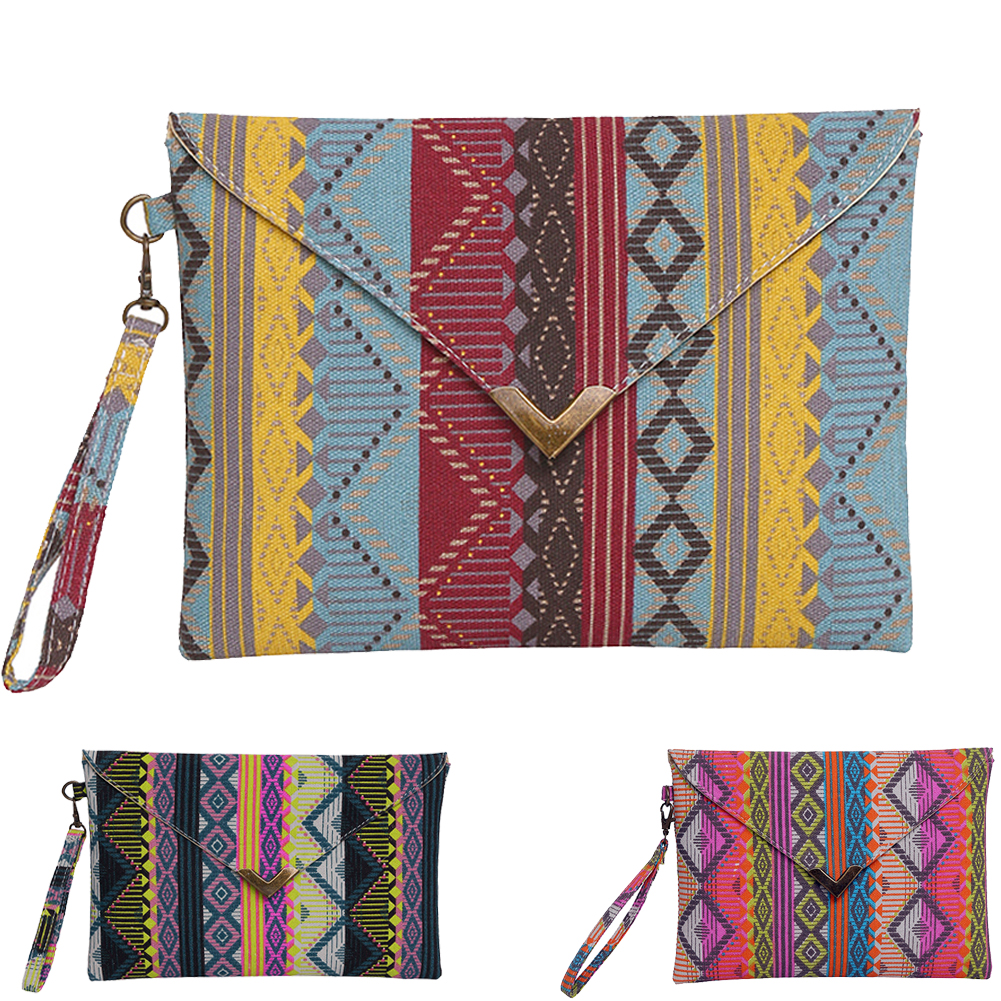 Vintage Women Clutch Bag