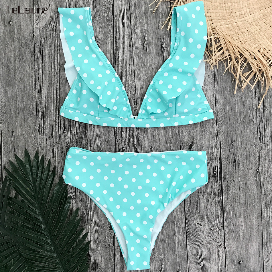 High Waist Bikini Summer Beach Wear