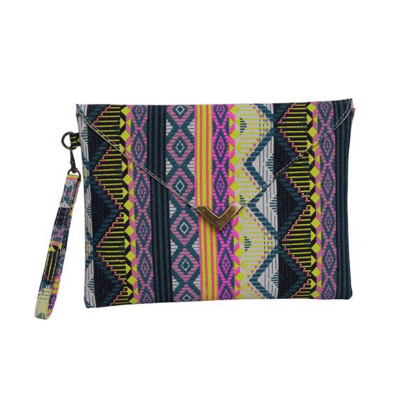 Vintage Women Clutch Bag Evening Embroidered